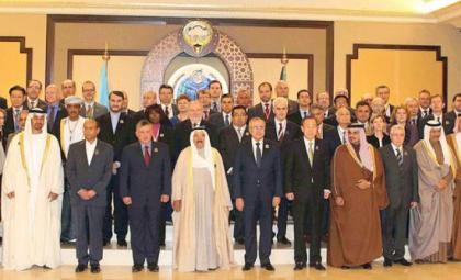 صورة مؤتمر المانحين في الكويت يستضيف 78 دولة و500 مليون دولار من الدولة المضيفة