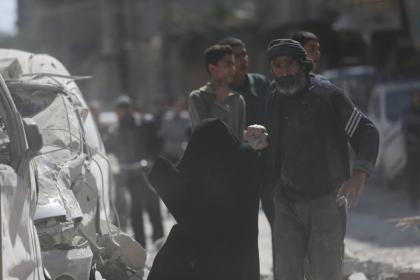 صورة قوات الأسد تتبع سياسة الأرض المحروقة في الزبداني