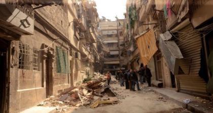 صورة النظام يستهدف السليمانية بصواريخه وشبيحته يتهمون الثوار