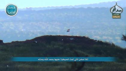 صورة معارك عنيفة في ريف إدلب لاستكمال السيطرة على باقي المحافظة