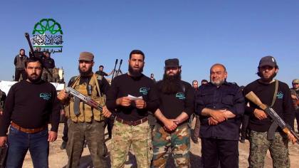صورة لواء أسود الشام ينضم لحركة أحرار الشام
