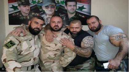 صورة قوات الأسد ومليشيا الدفاع الوطني تشتبك في حمص