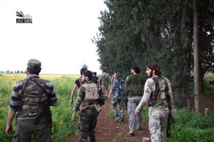 صورة الثوار يتقدمون على محاور ريف حلب الشمالي ضد داعش
