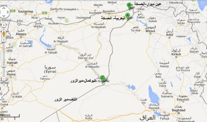 صورة النظام يخسر أخر معابره مع العراق