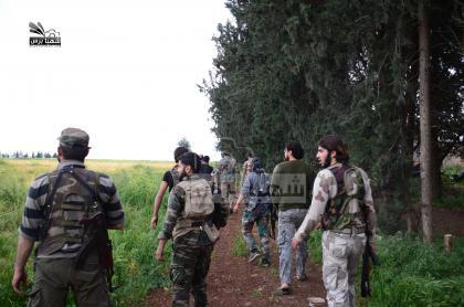 صورة الثوار يسيطرون على قرى الرشادية والشيخ محمد جنوب حلب