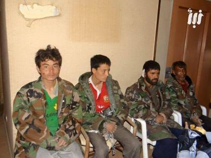 صورة صفقة تبادل بين الثوار وقوات الأسد في درعا