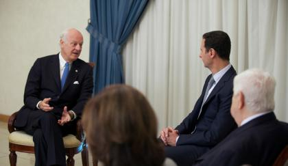 صورة دي مستورة يعمل على استمرار الأسد في السلطة