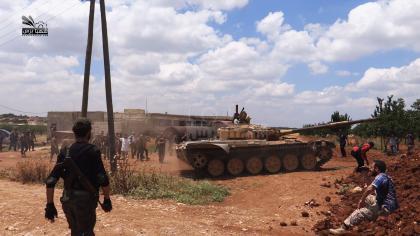 صورة الثوار يحررون بلدة البل بريف حلب والمعارك مستمرة ضد داعش