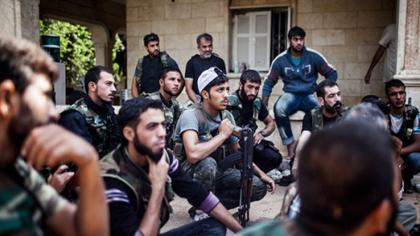 صورة على غرار فتح إدلب ثوار درعا يشكلون جيش النصر