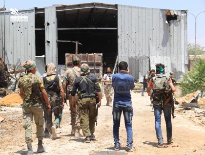 صورة ثوار فتح حلب يعيدون الكرة على حي الراشدين ويحررونه بالكامل