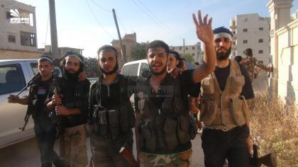 صورة اشتباكات في باشكوي وقصف جوي على أحياء حلب وريفها