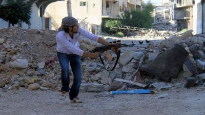 صورة اشتباكات على أطراف دمشق وثوار الجنوب يطلقون معركة التحرير