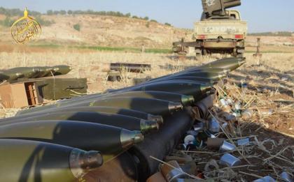 صورة ثوار عاصفة الجنوب يتقدمون في قلب درعا
