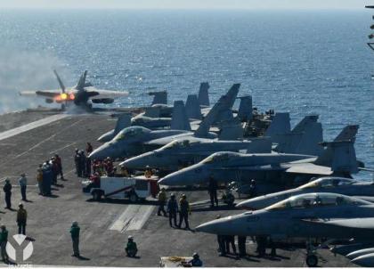 صورة طيران التحالف يقتل خمسين من داعش أمس