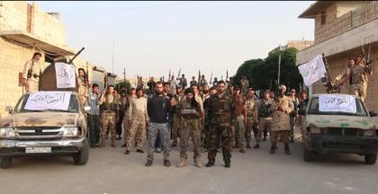 صورة الفوج الأول يضم كتائب عبد القادر صالح إلى صفوفه