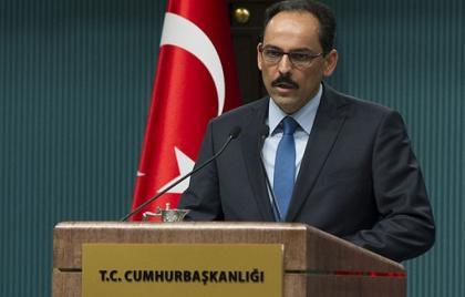 صورة الرئاسة التركية تحسم الجدل: لن نقوم بتدخل أحادي الجانب في سوريا