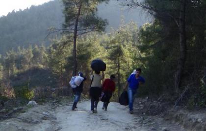 صورة معبر اليمضية.. آخر حلول السوريين للوصول إلى تركيا