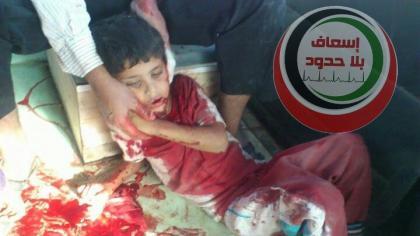 صورة مجازر الأسد في الريف الشرقي من حلب مستمرة بحق المدنيين