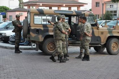 صورة هدوء وترقب يسود الموقف بين داعش والجيش التركي