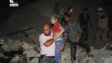 صورة البراميل مجدداً في حلب.. والثوار يصدون هجوماً على حي السيد علي