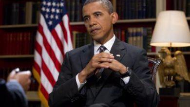 صورة أوباما لا يريد هزيمة تنظيم داعش