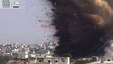 صورة أكثر من ثلاثين قتيلاً لقوات الأسد في الفوعة