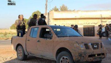 صورة أكثر من عشرين شهيداً في مارع خلال مواجهات مع داعش