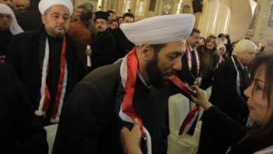 صورة أحمد حسون يتعرض للضرب في الجزائر