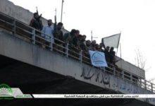صورة السيطرة على مبنى الاطفائية واشتباكات على عدة محاور في حلب