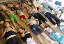 صورة في ذكرى مجزرة الكيماوي داعش تحتفل على طريقتها