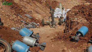 صورة معارك عنيفة يخوضها الثوار على جبهات باشكوي ودوير الزيتون شمال حلب