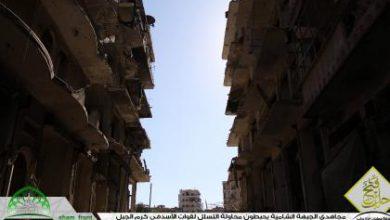 صورة الثوار يحبطون محاولة تسلل لقوات الأسد في كرم الجبل
