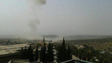 صورة داعش تفجر سيارة مفخخة في سلقين بريف إدلب