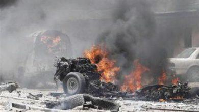 صورة ستة شهداء في دارة عزة غربي حلب جراء تفجير مجهول