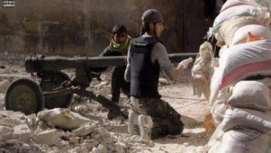 صورة لهيب داريا يتصدون لقوات الأسد