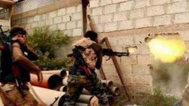صورة الثوار يتصدون لقوات الأسد في الغوطة الشرقية