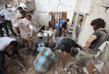 صورة قصف على حيان بريف حلب.. وجرابلس في مرمى نيران المليشيات الكردية