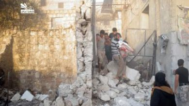 صورة الطيران الروسي يكثف من غاراته في حلب المحررة