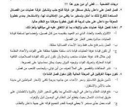 صورة المكتب الشرعي في فتح حلب يندد بتقاعس قادة الفصائل