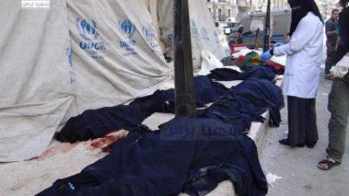 صورة الطيران الروسي يقتل أكثر من عشرين مدنياً أمس في حلب