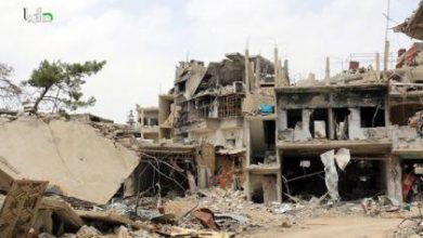 صورة داريا ماتزال صامدة عصية على قوات الأسد