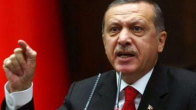 صورة أردوغان يؤكد أن الأسد سبب الإرهاب في العالم