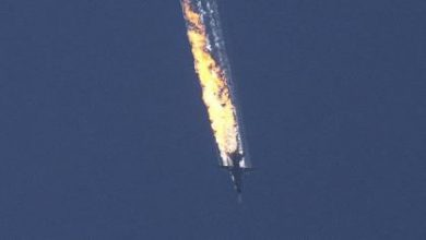 صورة تركيا تسقط طائرة روسية اخترقت أجوائها آتية من سوريا