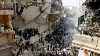 صورة روسيا تقصف المزيد من المناطق في الشمال السوري بالقرب من الحدود