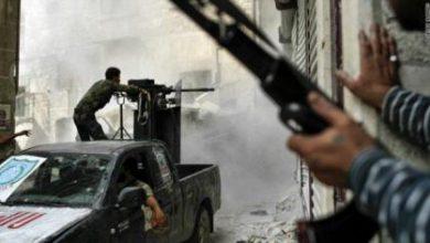 صورة معارك في جوبر وقصف مركز على الغوطة المحررة