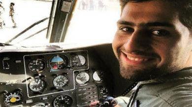 صورة مقتل طيار إيراني في حلب