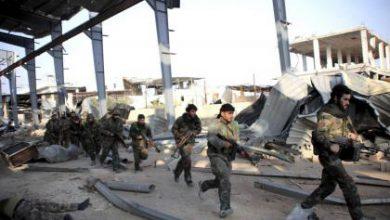 صورة حشد الميليشيات الشيعية تحتل بلدات بريف حلب الجنوبي