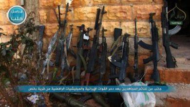 صورة الثوار يستعيدون السيطرة على بلدة بانص جنوب حلب ويقتلون 100 من الميليشيات