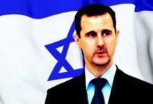 صورة الأسد يعترف بإسرائيل كدولة في سبيل إبقائه على الكرسي