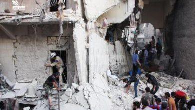 صورة الطيران الروسي يكثف من قصفه لريف حلب الشمالي